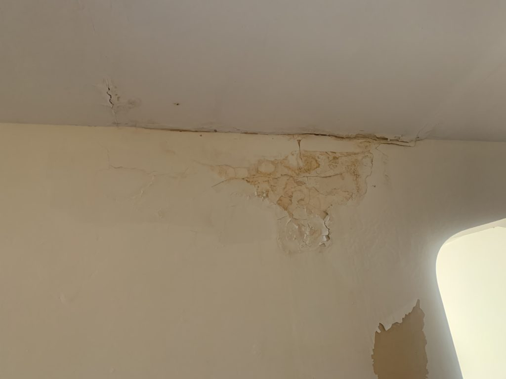 repair walls before selling a house