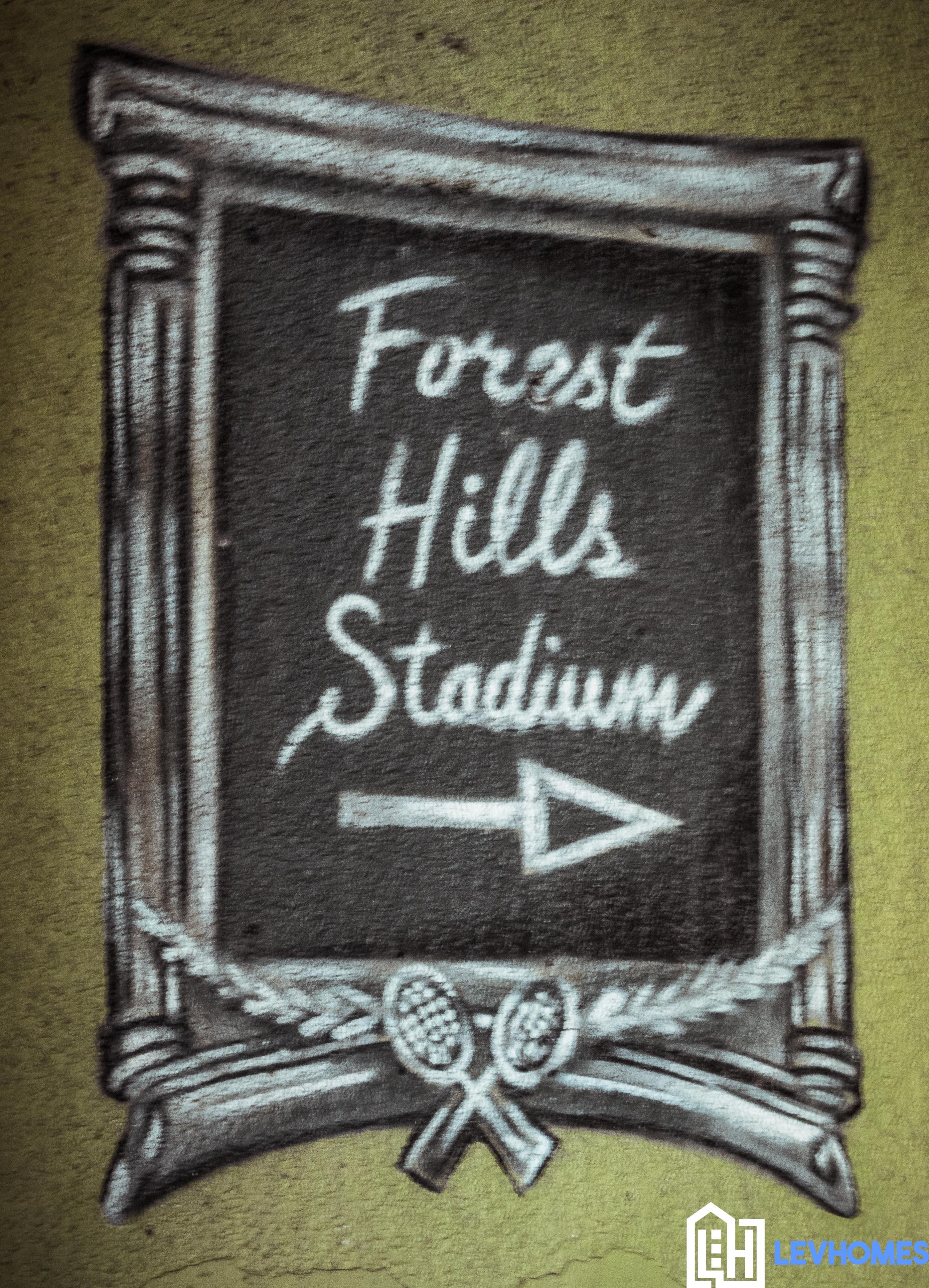 Forest Hills Stadium - Sign art