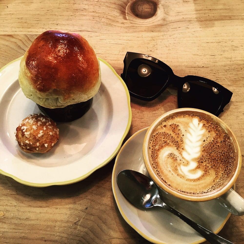 Latte, Broche, & Choquette at La Boulangerie