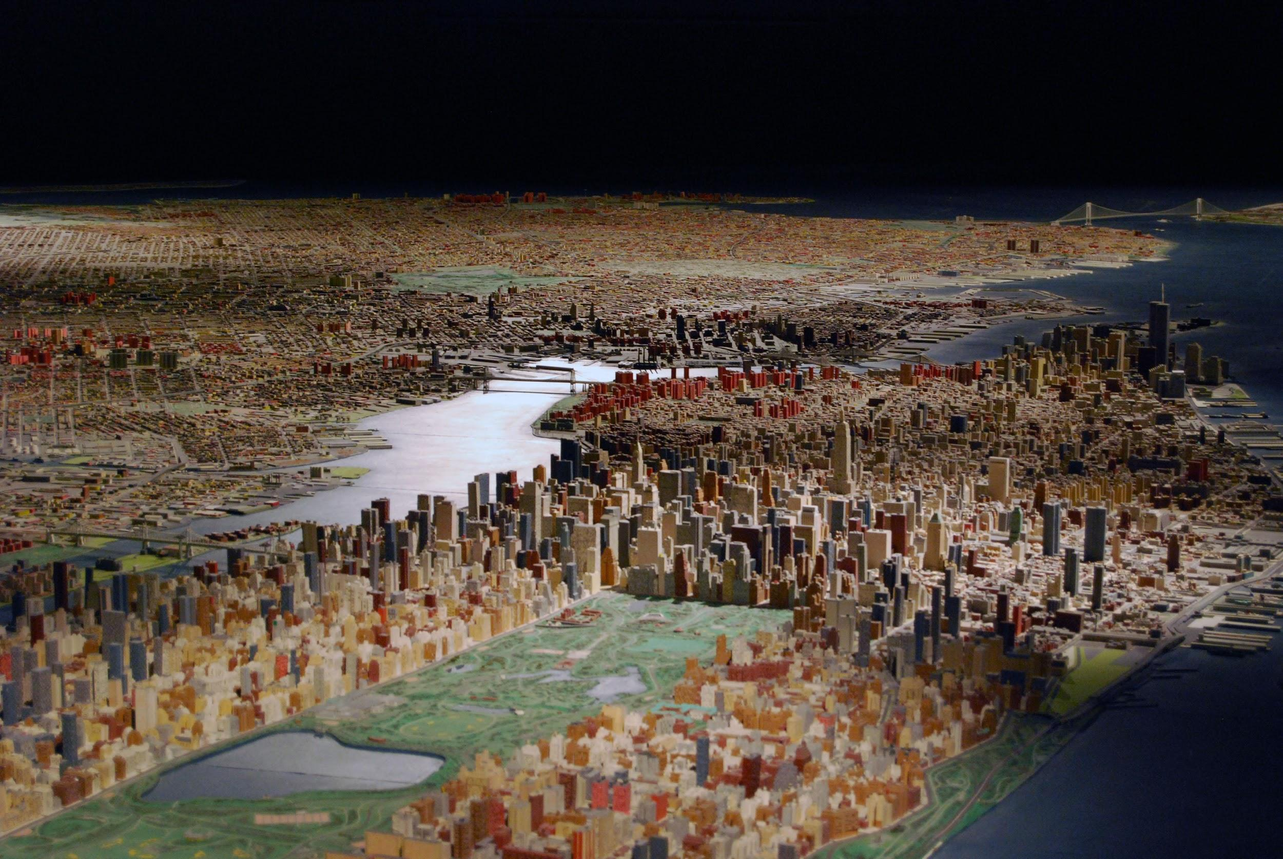 Panorama of the City of New York Queens Museum