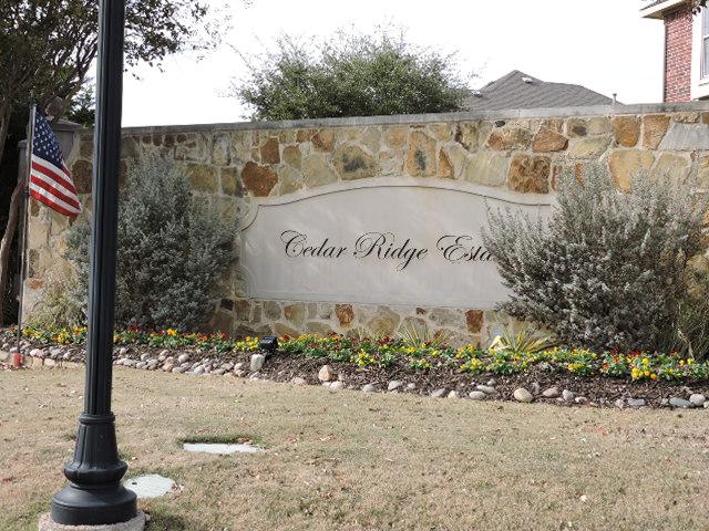 Cedar Ridge Estates