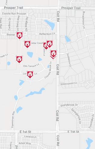 Parkside Community Map