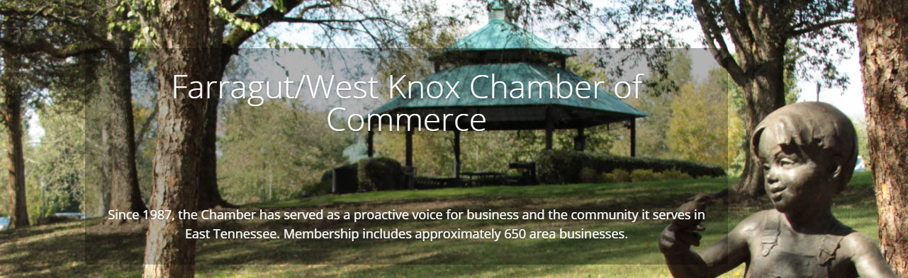 Farragut West Knox Chamber Website image